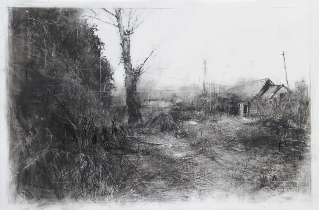 Laurie_Steen_the garden,,, drawing 06-16
