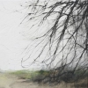 Winter View, Fursdon.  Drawing 01-08