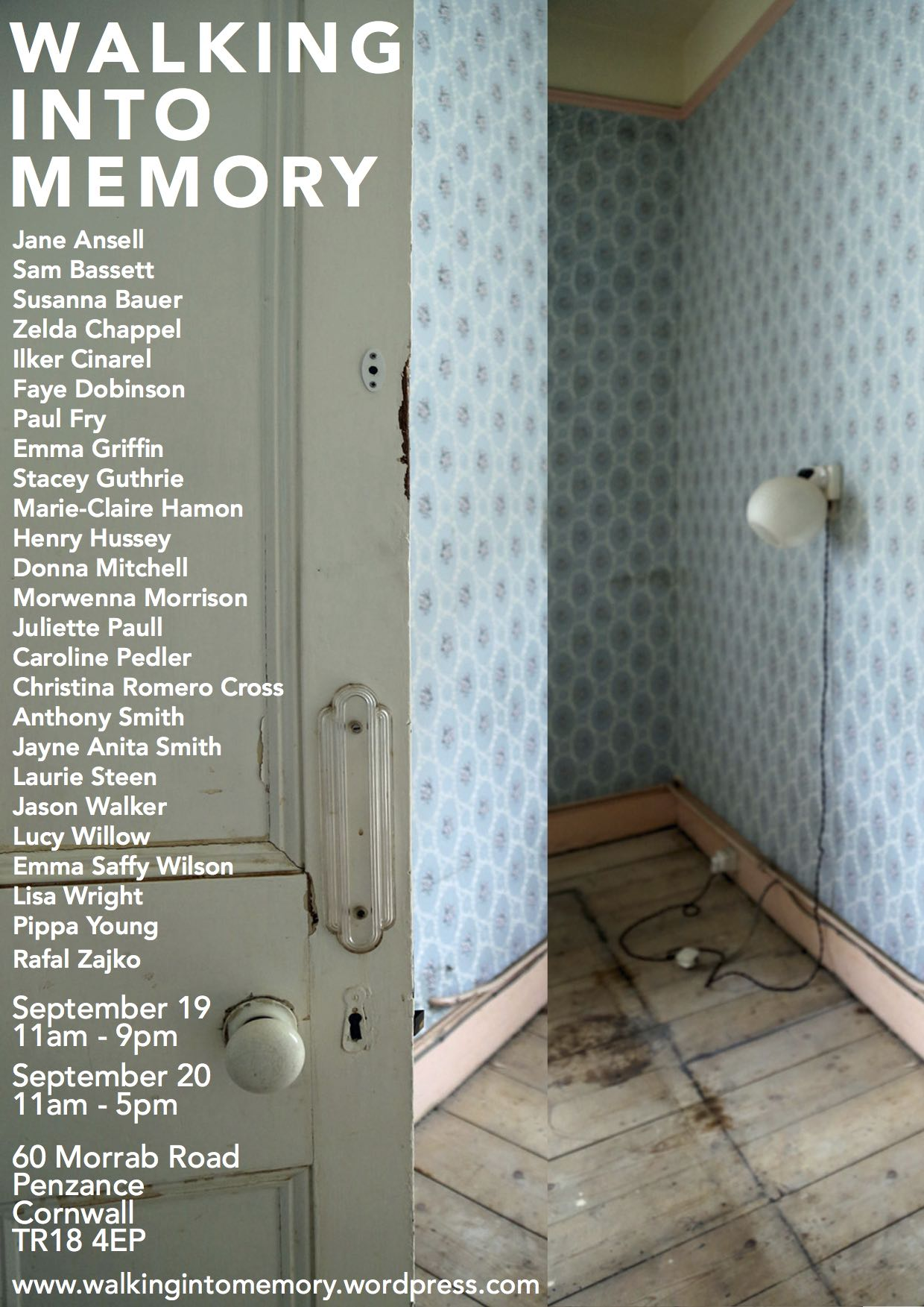 Walking into Memory PDF final flyer design