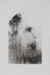 Laurie_Steen_Pines II, drawing 8-17