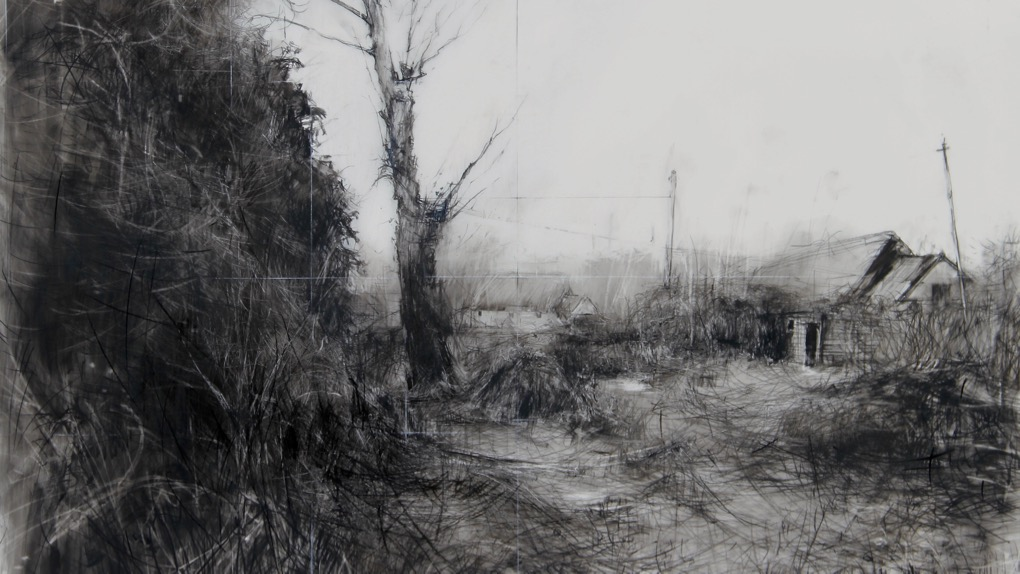L Steen. the garden,,, drawing 06-16 – Version 6